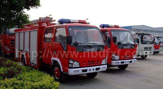 庆铃水罐消防车(2-3吨)